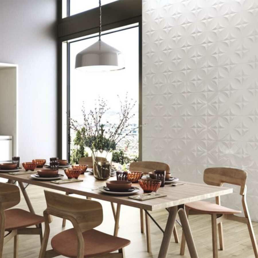 ST 3D White Tiles